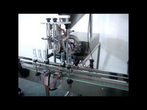 machine de remplissage liquide automatique de lavage de main de doubles têtes à vendre