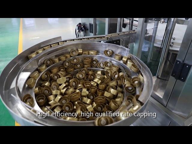 sauce servo piston automatique, miel, confiture, ligne de remplissage liquide haute viscosité