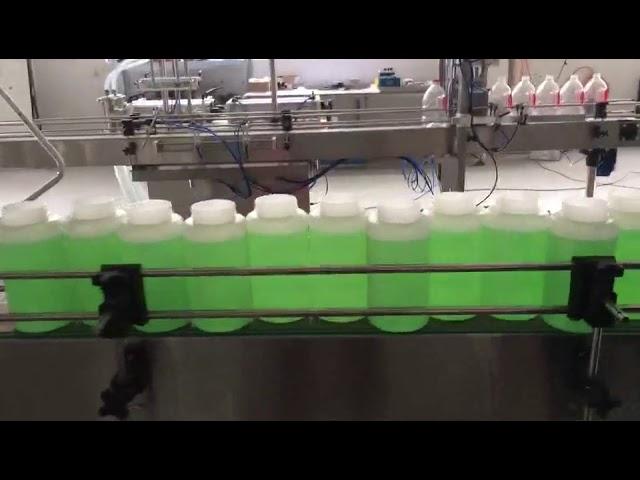machine de blanchiment de remplissage automatique