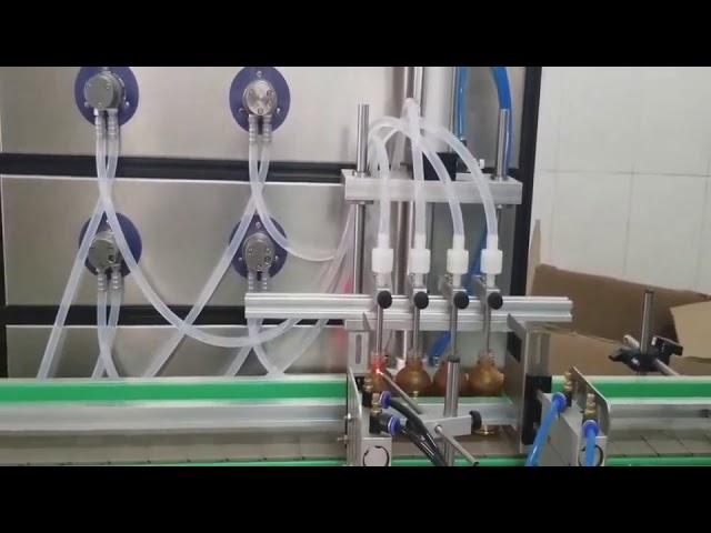 machine de remplissage cosmétique automatique de bouteille de 10ml 30ml 60ml 100ml pour des liquides