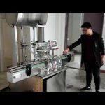 machine de remplissage cosmétique, machine de remplissage de savon liquide de pâte de piston automatique