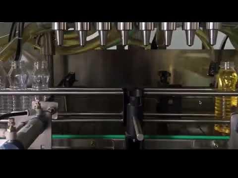 huile de cuisson automatique, machine de capsulage de remplissage d'huile de palme