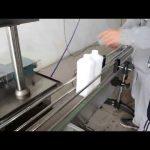 machine de remplissage d'embouteillage d'huile moteur à piston automatique économique
