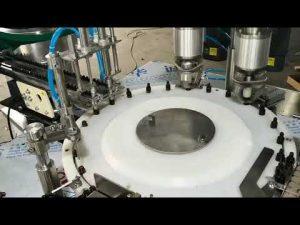 machine de capsulage de remplissage d'huile essentielle entièrement automatique de petit volume
