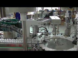 machine de capsulage de chapeau de pompe de déclencheur modèle de plaque rotative petite à vendre