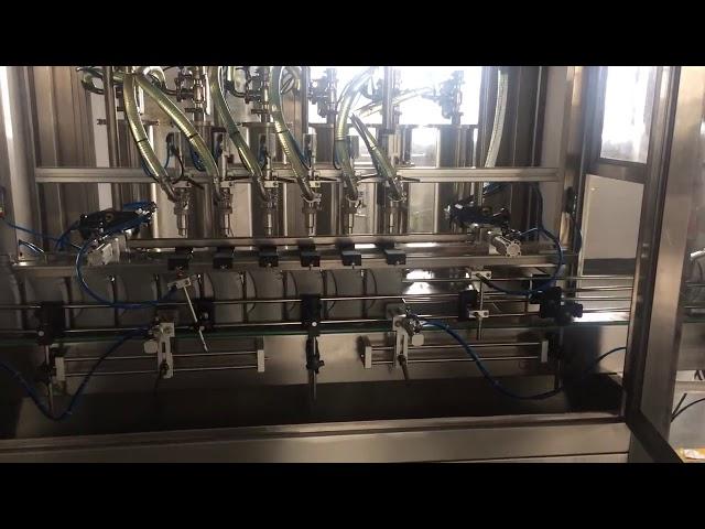 la haute précision 5l d'huile de moteur lubrifient la machine de remplissage de remplisseur de bouteille