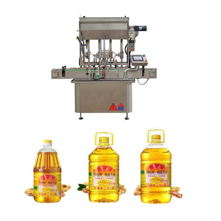 machine de remplissage d'huile rotative automatique