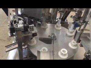 pâte plastique souple automatique, pommade, dentifrice, machine de scellage de remplissage de tube