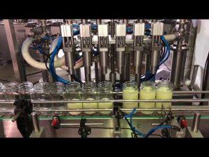 machine de remplissage d'huile comestible végétale automatique de ventes chaudes