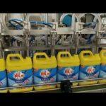 machine de remplissage automatique de bouteille de shampooing de détergent de blanchisserie de 8 têtes