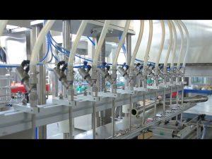 désinfectant liquide savon à main alcool bouteille machine de remplissage