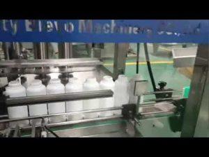 machine de remplissage de bouteilles de détergent de blanchisserie, chaîne de production liquide détergente de lavage