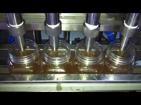 ventes directes d'usine machine de remplissage de bouteilles de détergent liquide entièrement automatique
