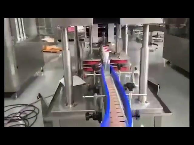 machine de remplissage automatique de remplisseur de piston de désinfectant pour les mains