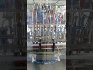 machine de remplissage de bouteilles d'animal familier d'huile liquide volumétrique