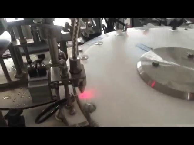 mini machine automatique de remplissage de bouteilles de vernis à ongles 30-50 bpm