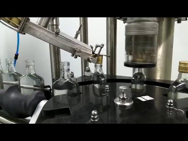 machine de capsulage de vis de bouteille de vin
