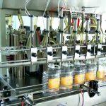 machine de remplissage automatique de bouteilles d'huile à piston de 5 litres