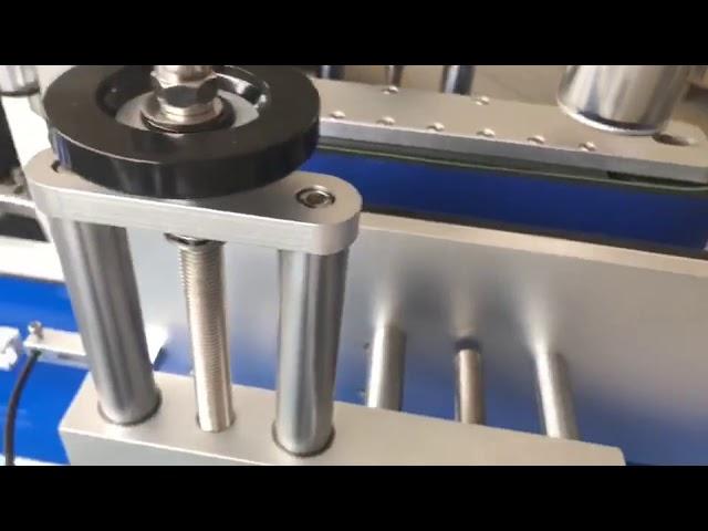 double face étiquette brassage autocollant automatique bouteille ronde machine à étiquettes