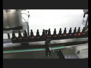 machine automatique de capsulage remplissante de potion de collyre de parfum de vernis à ongles