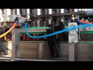 machine de remplissage automatique de sauce tomate au beurre d'arachide au chocolat