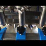 complètement automatique piston shampooing liquide bouteille machine de remplissage prix