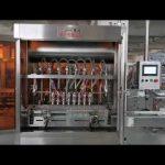 machine de remplissage servo entièrement automatique de sauce tomate