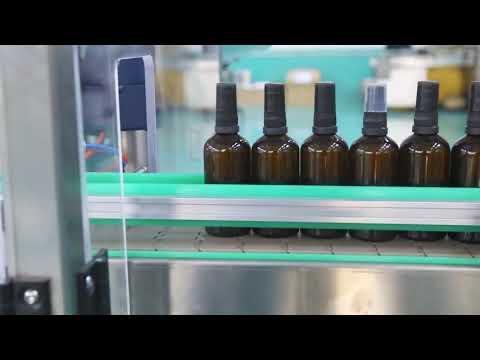 haute précision moteur en acier inoxydable plate-forme cbd machine de remplissage de bouteilles d'huile