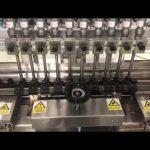 machine de remplissage linéaire de crème alcoolique liquide, remplisseur d'huile de petite bouteille de pot de miel