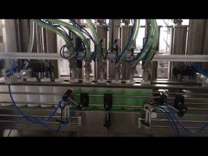 machine de remplissage de bouteilles de savon liquide à piston