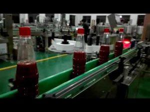 pleine machine de remplissage automatique de bouteilles à grande vitesse pour le ketchup, la confiture, la sauce