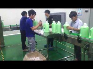 lavage liquide shampooing machine de remplissage prix