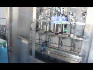 machine de remplissage d'huile de voiture, machine de remplissage d'huile de lubrification de moteur complète