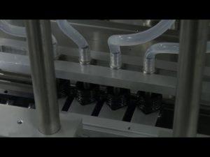 10ml-5l 6 tête automatique de bureau machine de remplissage liquide précise