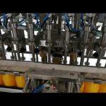 Machine de remplissage de bouteilles automatique à 12 têtes pour cosmétique de sauce aux huiles de ketchup