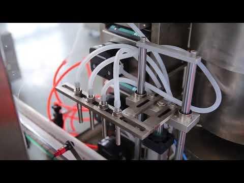 machine de remplissage d'huile de chanvre cbd bouteille de vernis à ongles entièrement automatique à vendre