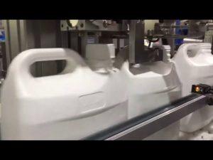 machine de remplissage numérique liquide et crème automatique à 4 buses