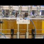 huile de palme, huile de soja, machine de remplissage d'huile de cuisson