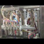 bouteilles de verre automatique machine de remplissage d'huile d'olive