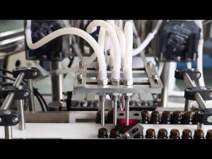 Machine de remplissage et de capsulage de lavage d'huile d'olive 120 ml