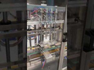 machine de remplissage automatique de bouteille de parfum, machine de remplissage liquide avec le prix