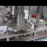machine de capsulage rotatoire de bouteille en plastique simple tête automatique