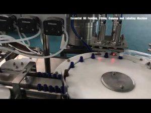 machine de remplissage de parfum de bouteille en verre, remplisseur cosmétique de lotion