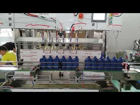 chine automatique 5000 ml lubrifiant moteur huile machine de remplissage pour l'industrie automobile