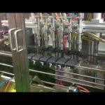 machine de remplissage de remplissage d'huile d'olive à piston automatique de contrôle plc