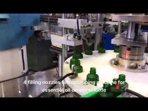 compte-gouttes huile essentielle cbd machine de remplissage d'huile