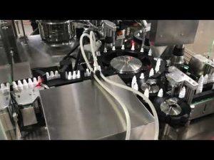 machine de capsulage pharmaceutique de remplissage de gouttes pour les yeux pour petit flacon de 20 ml