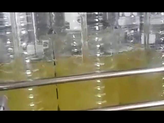 machine de conditionnement d'huile comestible de remplissage de bouteilles automatique