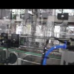machine de remplissage liquide de gel désinfectant pour les mains
