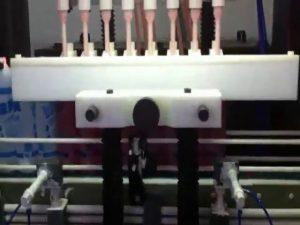 machine de remplissage acide corrosive de décapant de toilette de bouteille en plastique anti corrosive